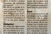 La Finanza per Tutti – Michele Bartolini – C è vita sotto lo zero