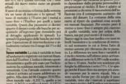 La Finanza per Tutti – Michele Bartolini – Tasso mutui