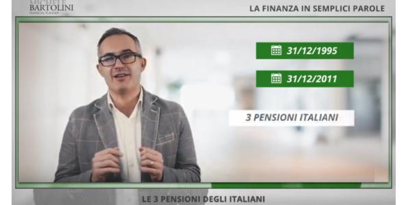 Le 3 Pensioni degli Italiani