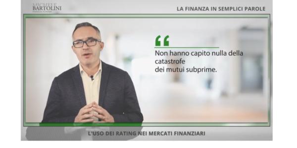 L'uso dei Rating nei mercati finanziari